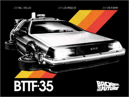 Plakat  DeLorean VHS II