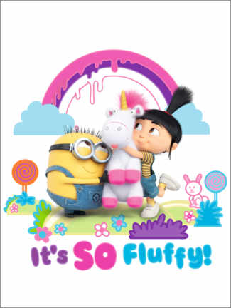 Plakat  Agnes - it's so fluffy!