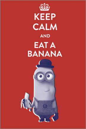 Plakat  Eat a banana