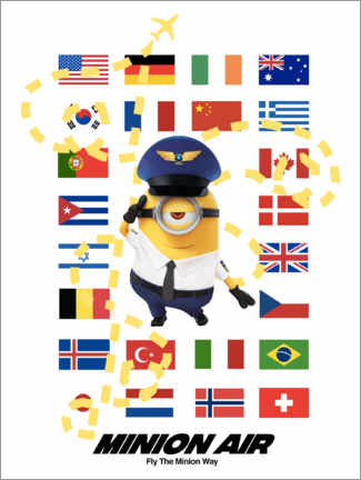 Plakat  Minion Air