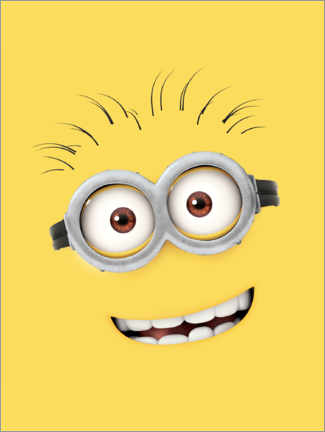 Plakat  Silly Minion Face