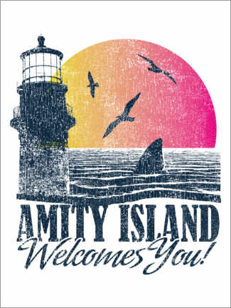 Plakat  Amity Island Welcomes You