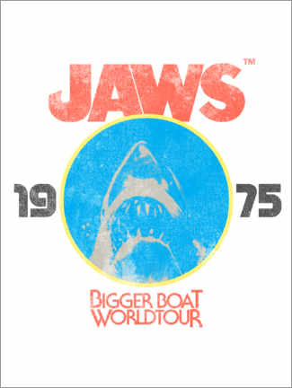 Plakat  Bigger Boat World Tour