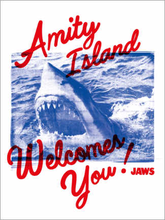Plakat  Welcome to Amity Island!