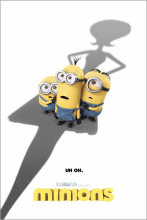 Plakat  Minions - shadow