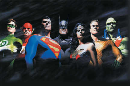 Obraz na płótnie  Justice League - The Original Seven