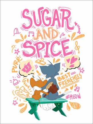 Gallery print  Tom and Jerry - Sugar and Spice