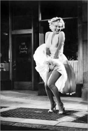 Plakat  Marilyn - The Seven Year Itch iconic pose - Celebrity Collection