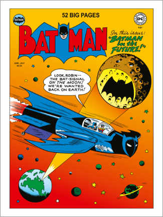 Gallery print  DC Batman Comic - Moon