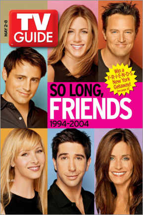 Gallery print  TV Guide - Friends Portraits - TV Guide