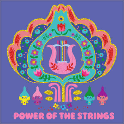 Gallery print  The power of strings