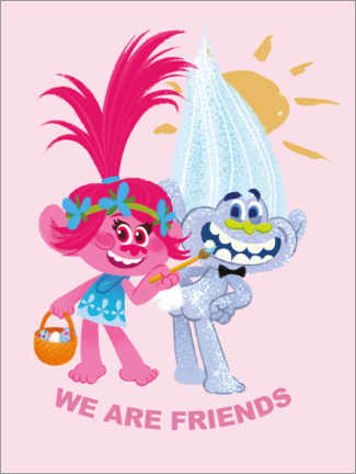 Gallery print  We are friends