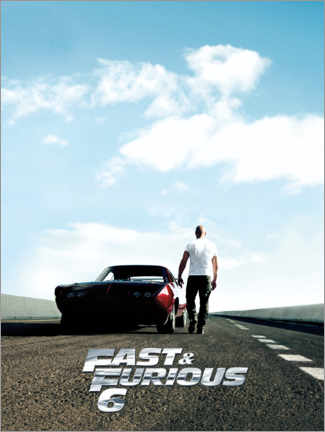 Gallery print  Fast & Furious 6 - Dominic Toretto