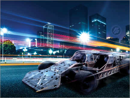 Plakat  The Fast and the Furious - City Lights