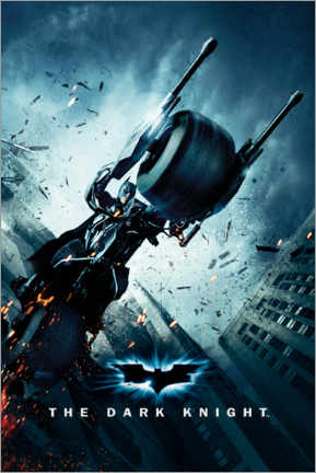 Plakat  Batman The Dark Knight Rises - Batpod