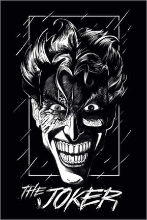 Plakat  The Joker - Smile