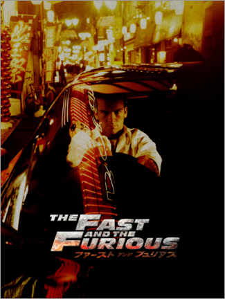Gallery print  The fast and the furious - Tokyo Drift