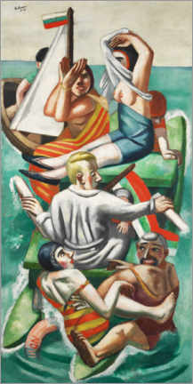 Plakat  The boat - Max Beckmann