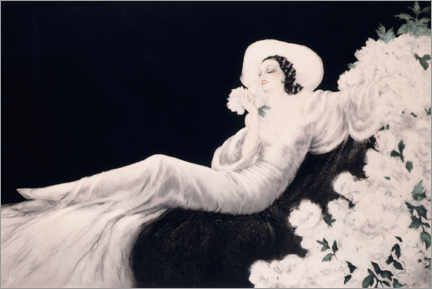 Obraz na płótnie  Loves the bloom - Louis Icart