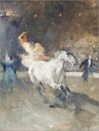 Plakat  Circus rider in the ring - Brynolf Wennerberg