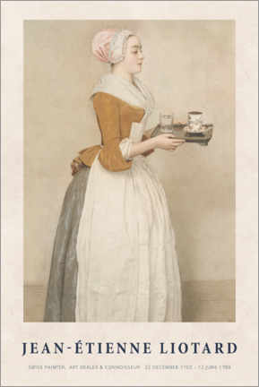 Plakat Liotard - The Chocolate Girl