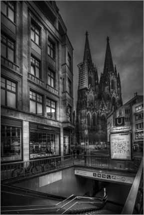 Plakat Cologne cathedral