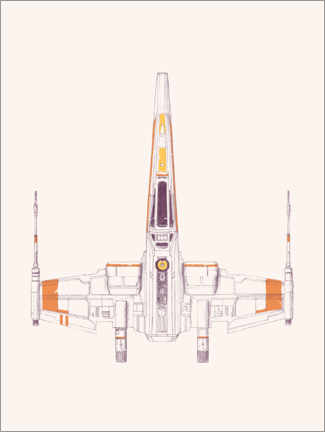 Plakat  Spaceship - Florent Bodart