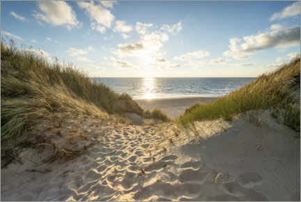 Gallery print  Dunes on the beach - Jan Christopher Becke