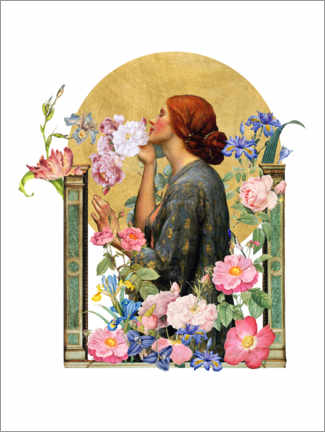 Plakat The Soul of the Rose - Collage