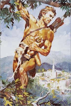 Gallery print  Tarzan and the Jewels of Opar