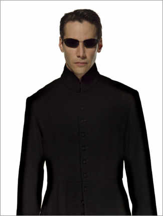 Gallery print  The Matrix Reloaded - Cool Neo