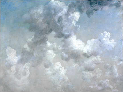 Obraz na PCV  Studying the clouds - John Constable