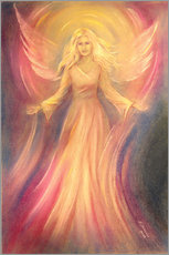 Naklejka na ścianę  Angel of light and love - Marita Zacharias