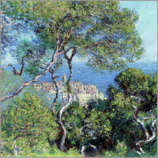 Plakat  Bordighera - Claude Monet