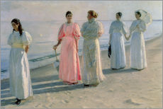Gallery print  Ladies on the beach - Michael Peter Ancher