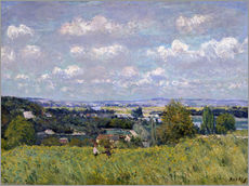 Gallery print  The Valley of the Seine at Saint-Cloud - Alfred Sisley
