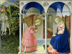 Gallery print  The Annunciation - Fra Angelico
