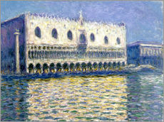 Gallery print  The Ducal Palace - Claude Monet