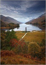 Gallery print  Glenfinnan Monument - Scotland - Martina Cross