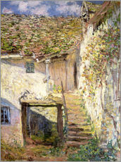 Gallery print  The staircase - Claude Monet