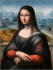 Plakat Mona Lisa from the Prado