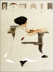Naklejka na ścianę  Know all men by these presents - Clarence Coles Phillips