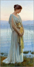 Gallery print  Evening by the Lake - Max Nonnenbruch