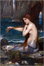 Gallery print  Syrena - John William Waterhouse