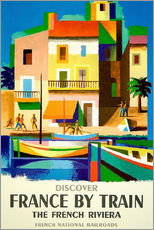 Gallery print  France by train - Travel Collection