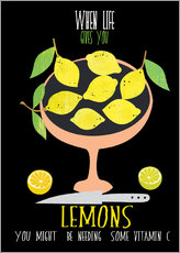 Gallery print  When life gives you lemons - Elisandra Sevenstar