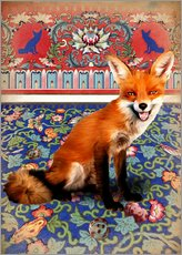 Gallery print  A fox at home - Mandy Reinmuth