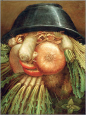 Gallery print  The Vegetable Gardener - Giuseppe Arcimboldo