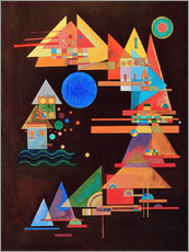 Gallery print  Peaks in the bow - Wassily Kandinsky