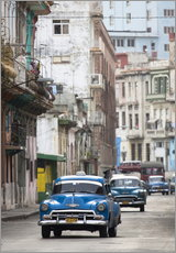 Gallery print  Taxis in Avenue Colon, Cuba - Lee Frost